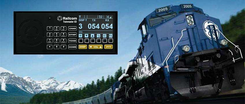 Trainmaster Xd Railroad Two Way Radio Railcom